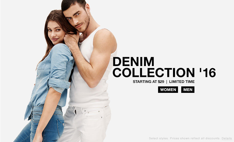 Denim Collection Starting at $29