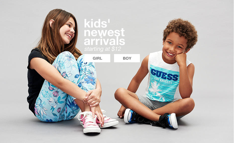 Kids' Newest Arrivals