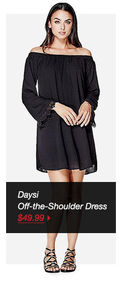 DAYSI OFF-THE-SHOULDER DRESS