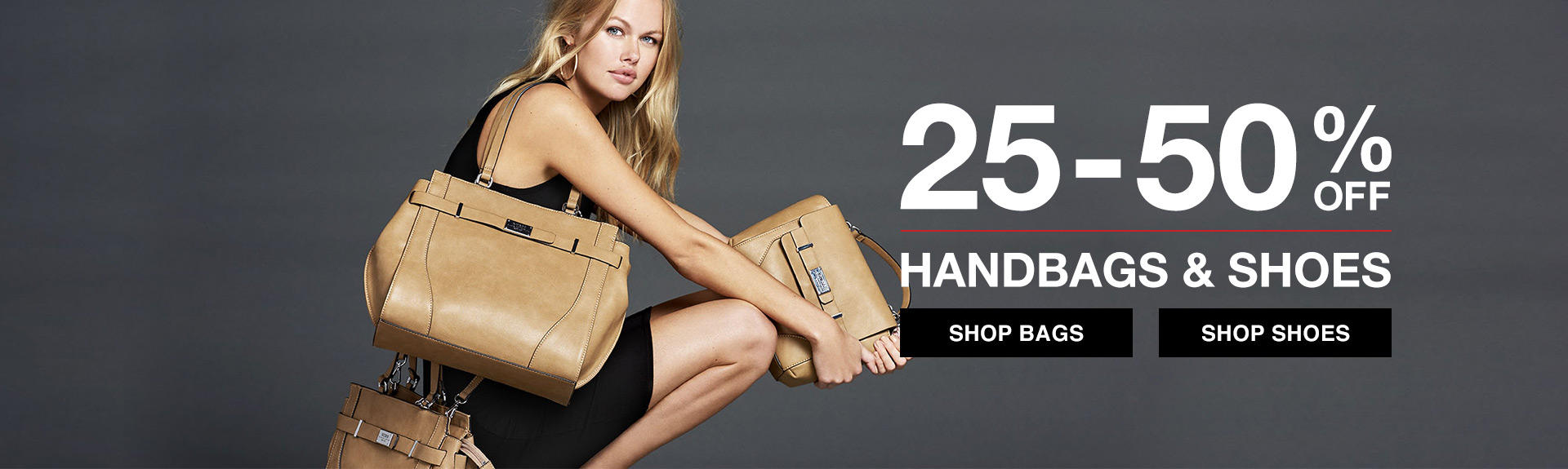 Shop handbags and shoes