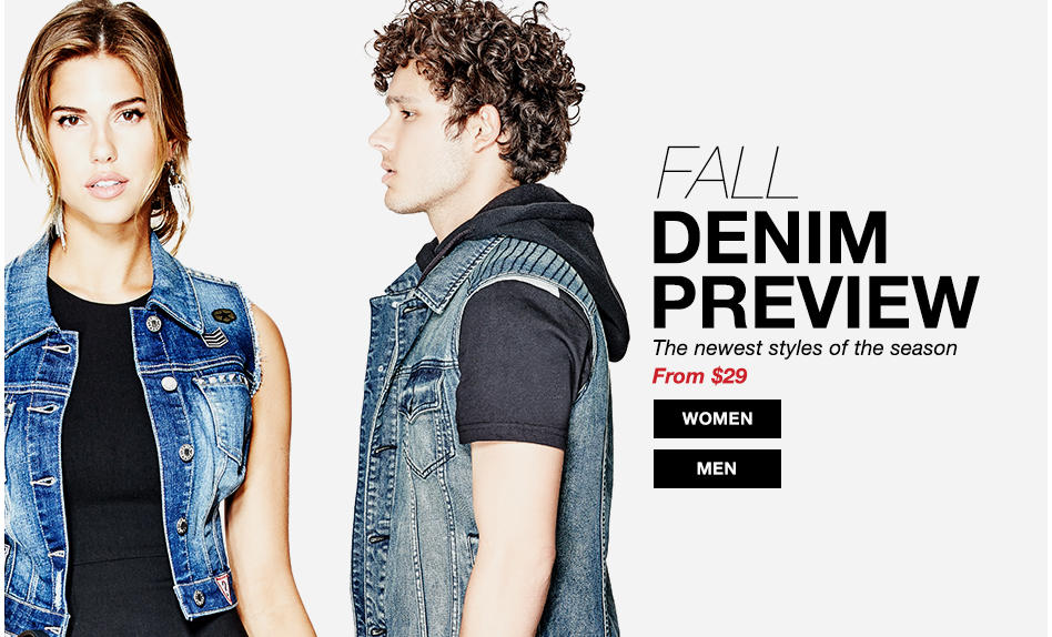 FAll Denim Preview