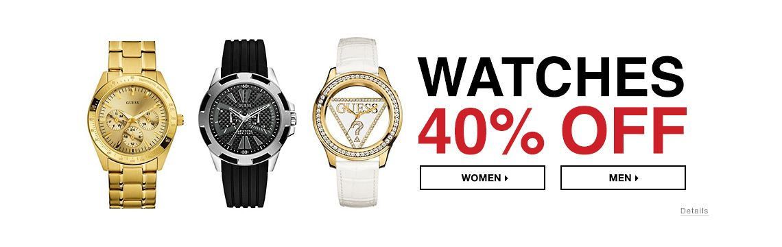Watches 40% Off