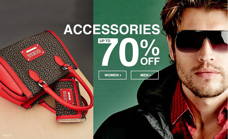 Accessories up To 70% Off