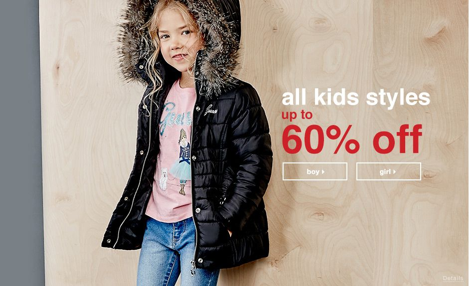 Kids Styles Up To 60% Off