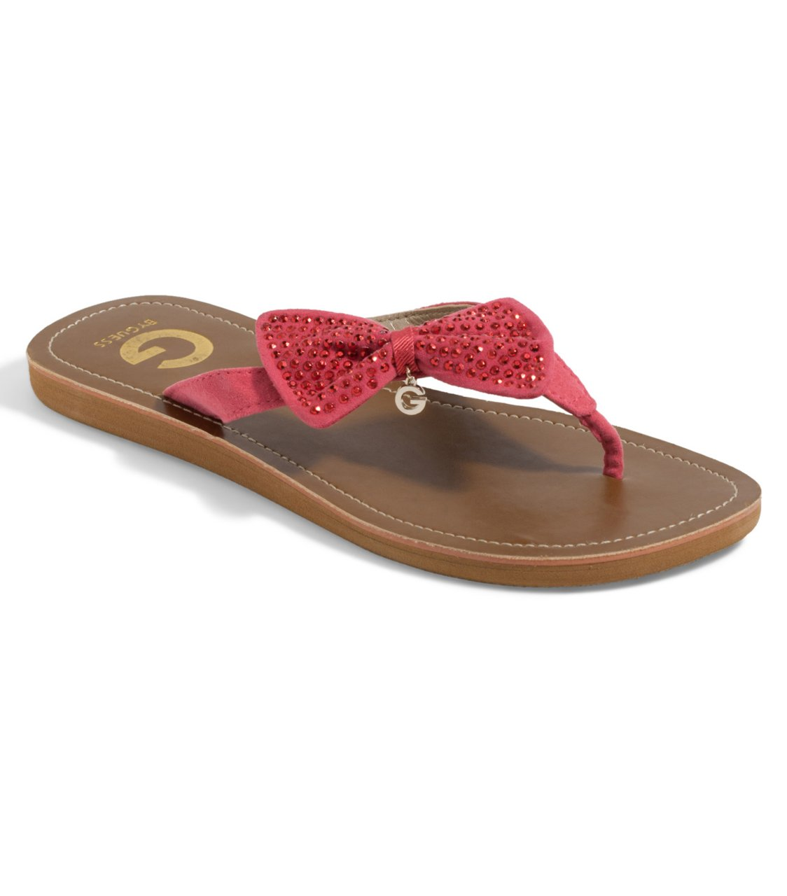 G by GUESS Keetz Flip-Flop, PINK MULTI FABRIC (7)