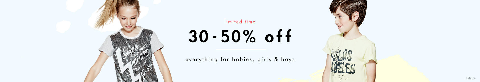 Sale Extra 30-50% Off