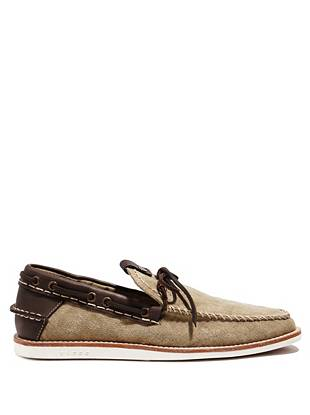 Alley Canvas Boat Shoes