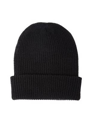 A classic, convertible design makes this beanie an essential for every guy. Wear it slouchy for a laid-back look or turned up if you're going for a more polished vibe.