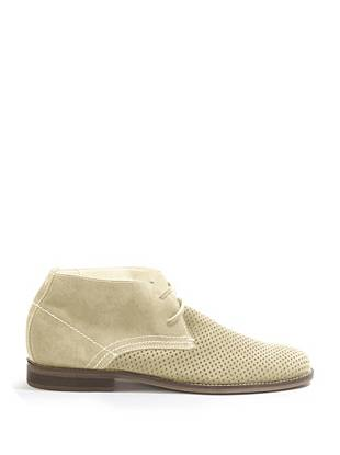 Hubert Perforated High-Top Shoes