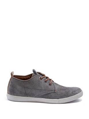 Smooth genuine suede and a classic low-top design make these shoes a versatile pair to own.