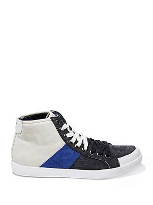 Jenkins High-Top Color-Blocked Sneakers