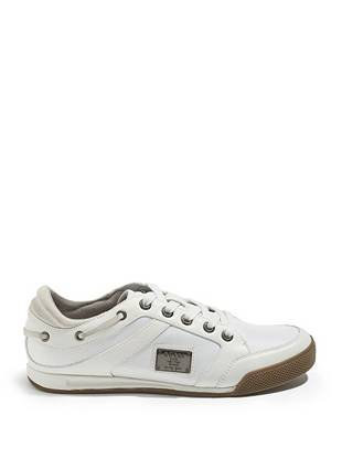 Leon Low-Top Sneakers with Plaque