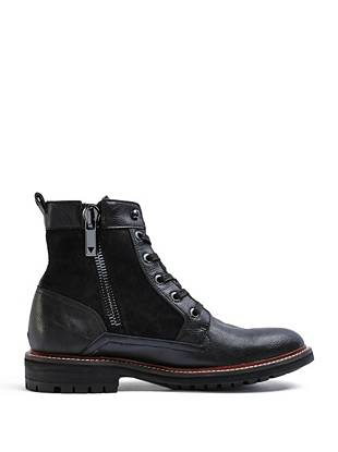 Reid Lace-Up High-Top Boots