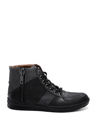 Theodore High-Top Zippered Sneakers
