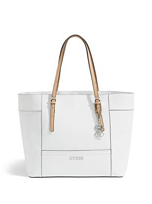 Delaney Textured Logo Medium Classic Tote