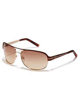 Durable wire frames and a sleek navigator design make these sunglasses ideal for the style-conscious guy. Pair them with both workwear and casual wear for the perfect sports-inspired finish.