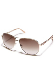 Adiva Chain Aviator Sunglasses