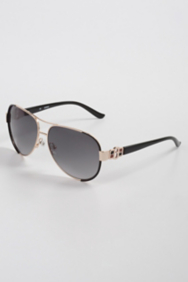 Kayla Metal Aviator Sunglasses