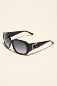 Aliyah Pyramid Sunglasses with Rhinestone
