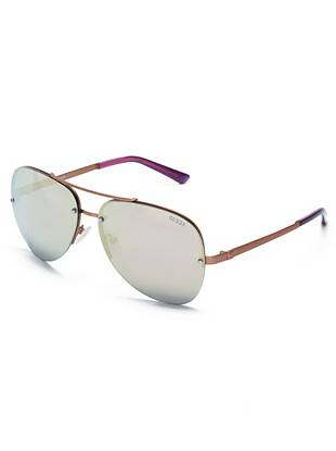 Krista Mirrored Aviator Sunglasses