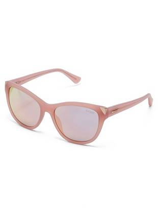Natasha Mirrored Cat Eye Sunglasses