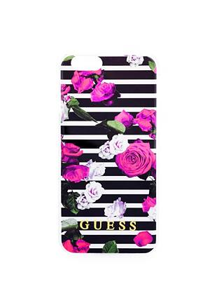 Floral and Striped iPhone 6 Hard Shell Case
