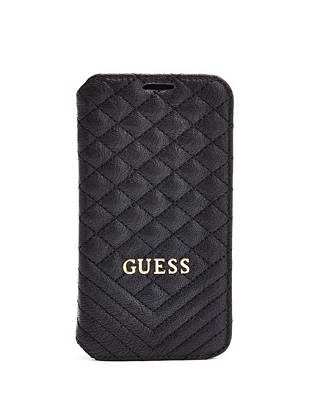 Quilted Galaxy S5 Book-Type Case