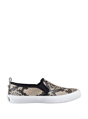 A new must-have for the modern trendsetter, these slip-on sneakers are the ultimate street-style essential. Exotic python print makes this pair ideal for the girl with an edge.