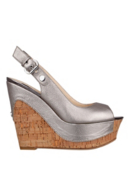Dagmar Open-Toe Wedge Pumps