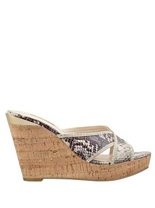 Eleonora Wedge Slides