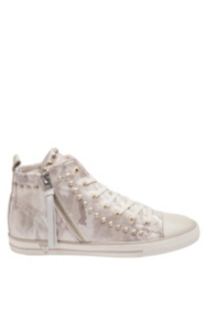 Ellen Camouflage High-Top Sneakers