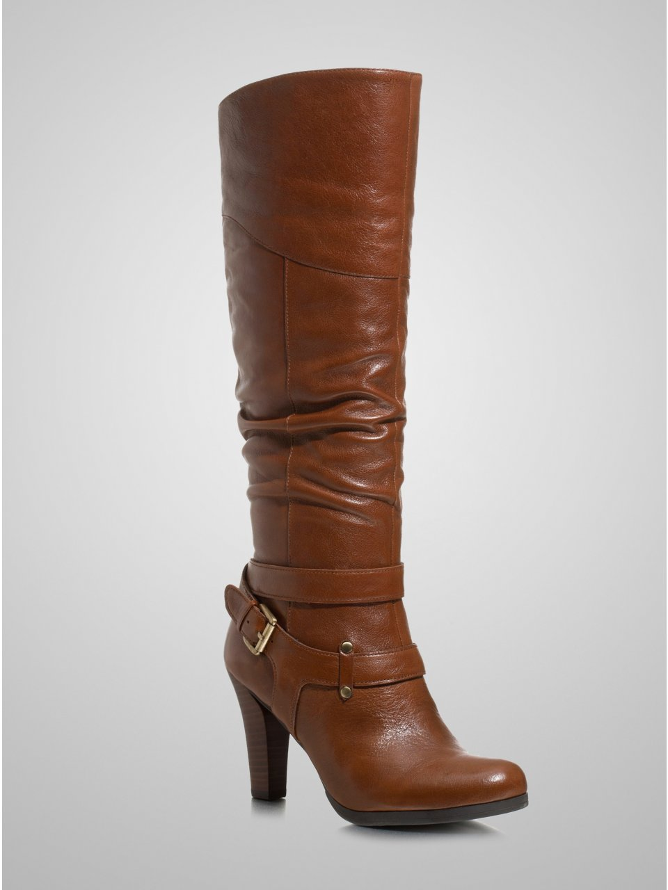 Brown Leather GUESS Farnellis Boots