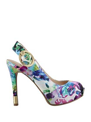 Haileey Printed Pumps