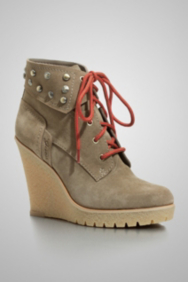 Hannela Casual Lace-Up Booties