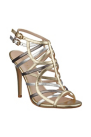 Harlen Metallic High-Heel Sandals