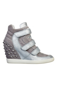 Hisalyn Studded Wedge Sneakers