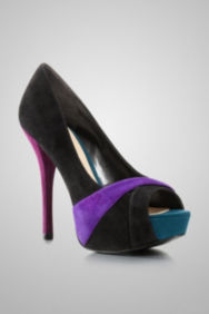 Isila Peep-Toe Pumps