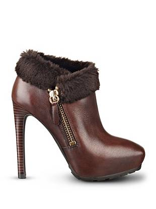 Ivorie Faux-Fur Booties