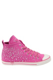 Joan Studded High-Top Sneakers