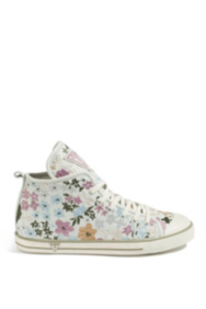Joan Floral High-Top Sneakers