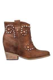 Jorien Western Booties with Hidden Wedge