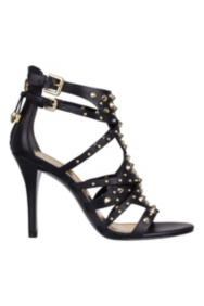 Laidea Studded High-Heel Sandal