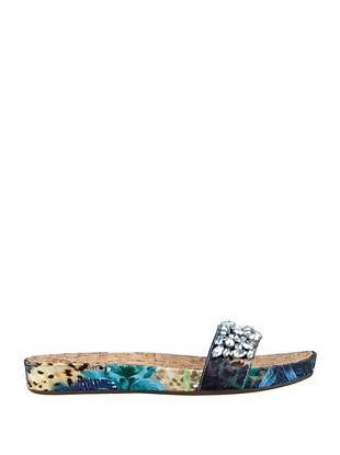 Padalis Tropical-Print Slides