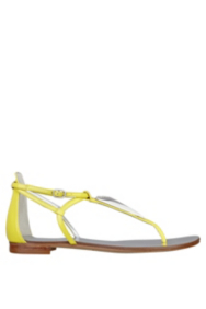 Rafi Triangle-Detail Sandals