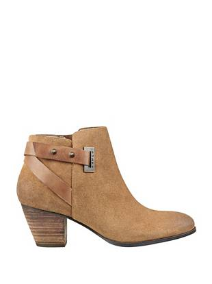 Verity Chunky-Heel Booties