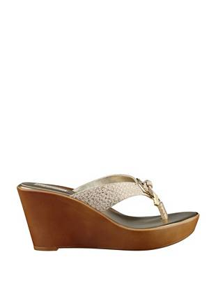 Xandie Metallic Wedges