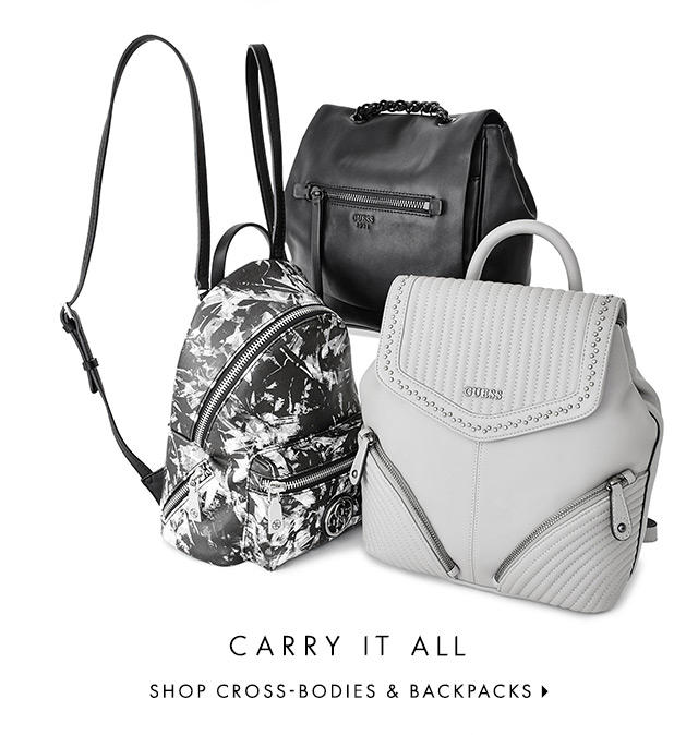 SHOP CROSS-BODIES & BACKPACKS