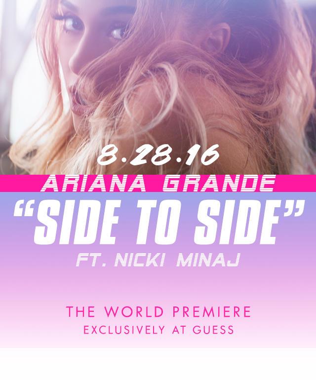 Ariana Grande X GUESS
