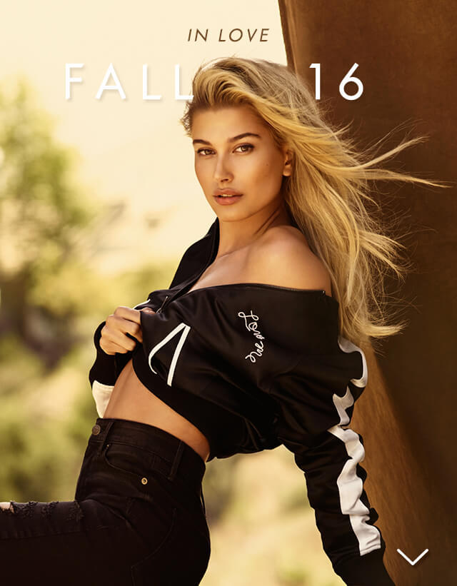 Fall 2016 featuring Hailey Baldwin