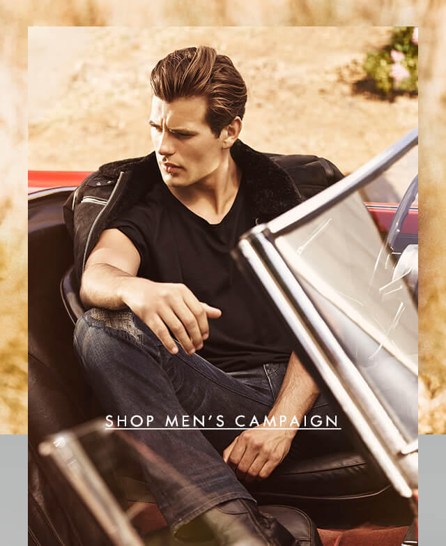 SHOP THE MEN'S CAMPAIGN